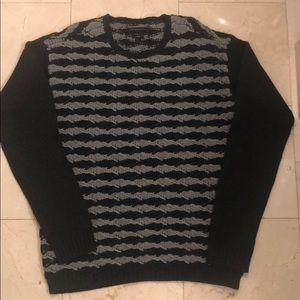 John Varvatos USA Luxe Crewneck Sweater